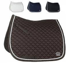 All Round Silver-Cord Saddle Pad