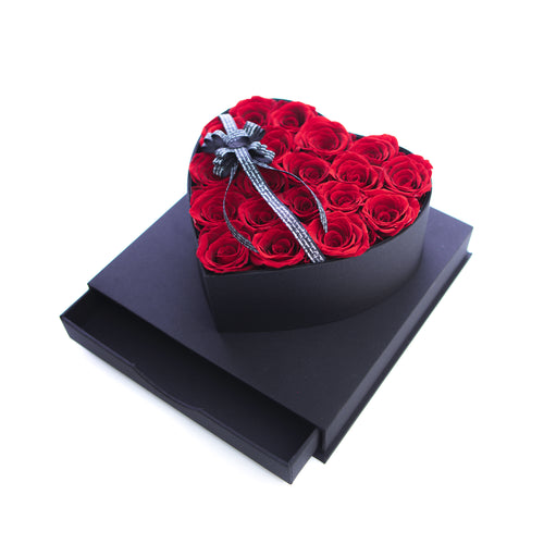 Eternal Roses Flower Box for Perfect Valentine's Day Gift