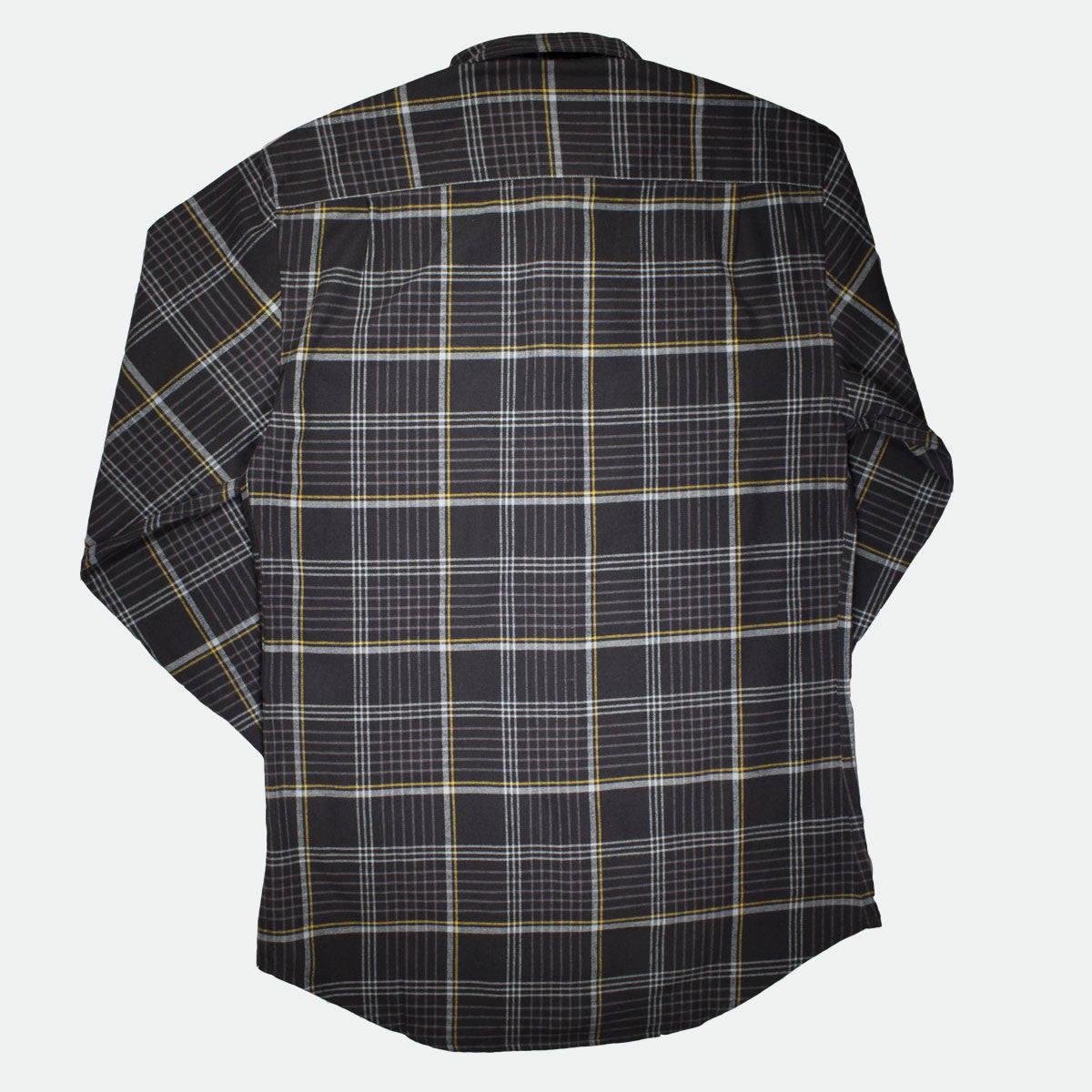 Richmond Classic Black Plaid Flannel Shirt