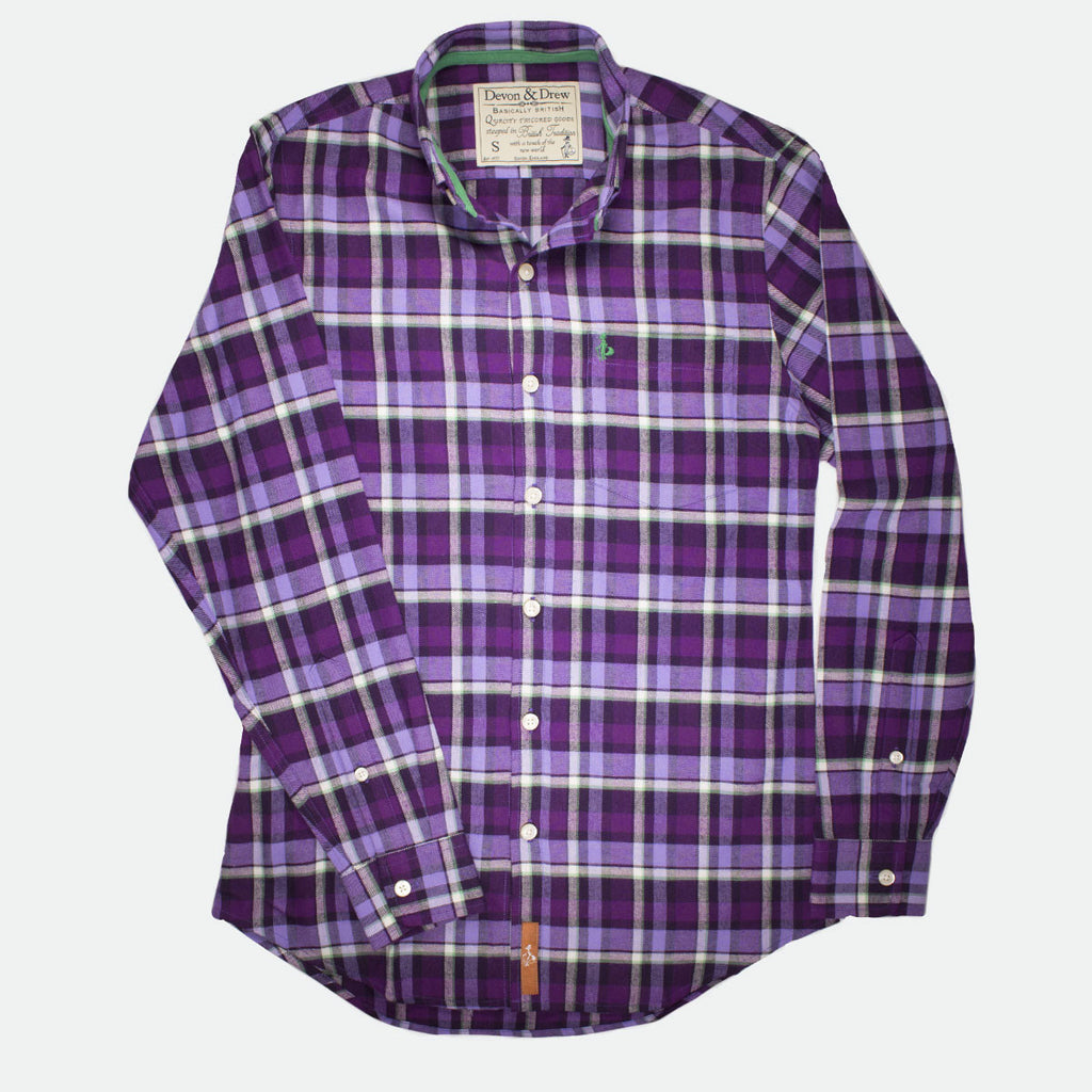 Richmond Classic Mens Flannel Shirt