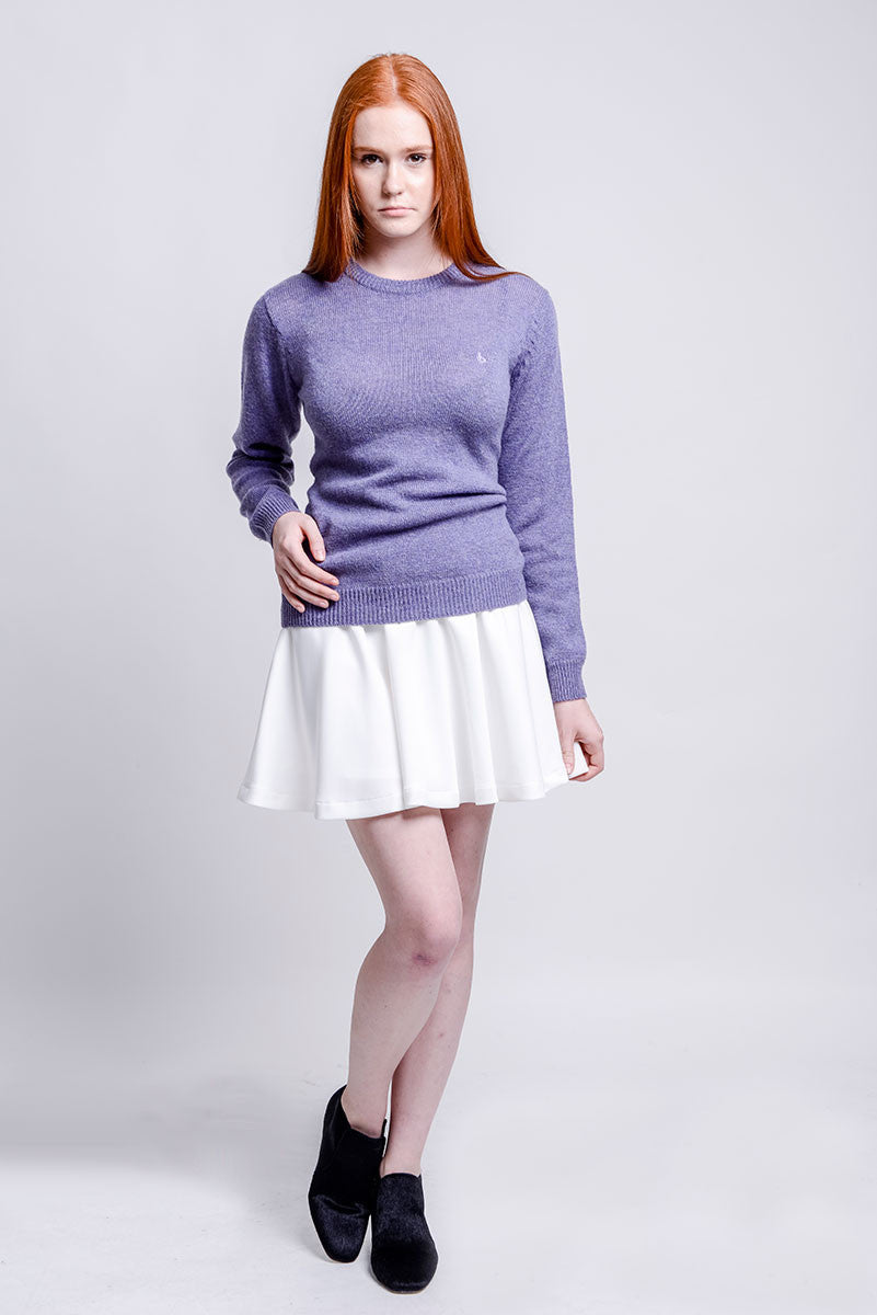 Chelston Purple Knit Sweater
