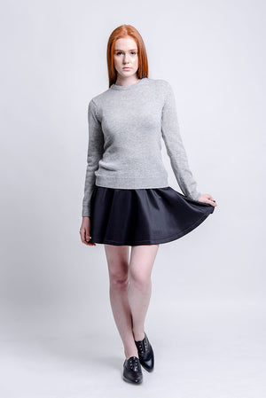 Chelston Grey Knit Sweater