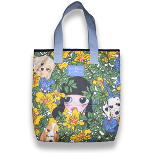 The Jungle Tote by Artist OH+ Futon for Devon & Drew