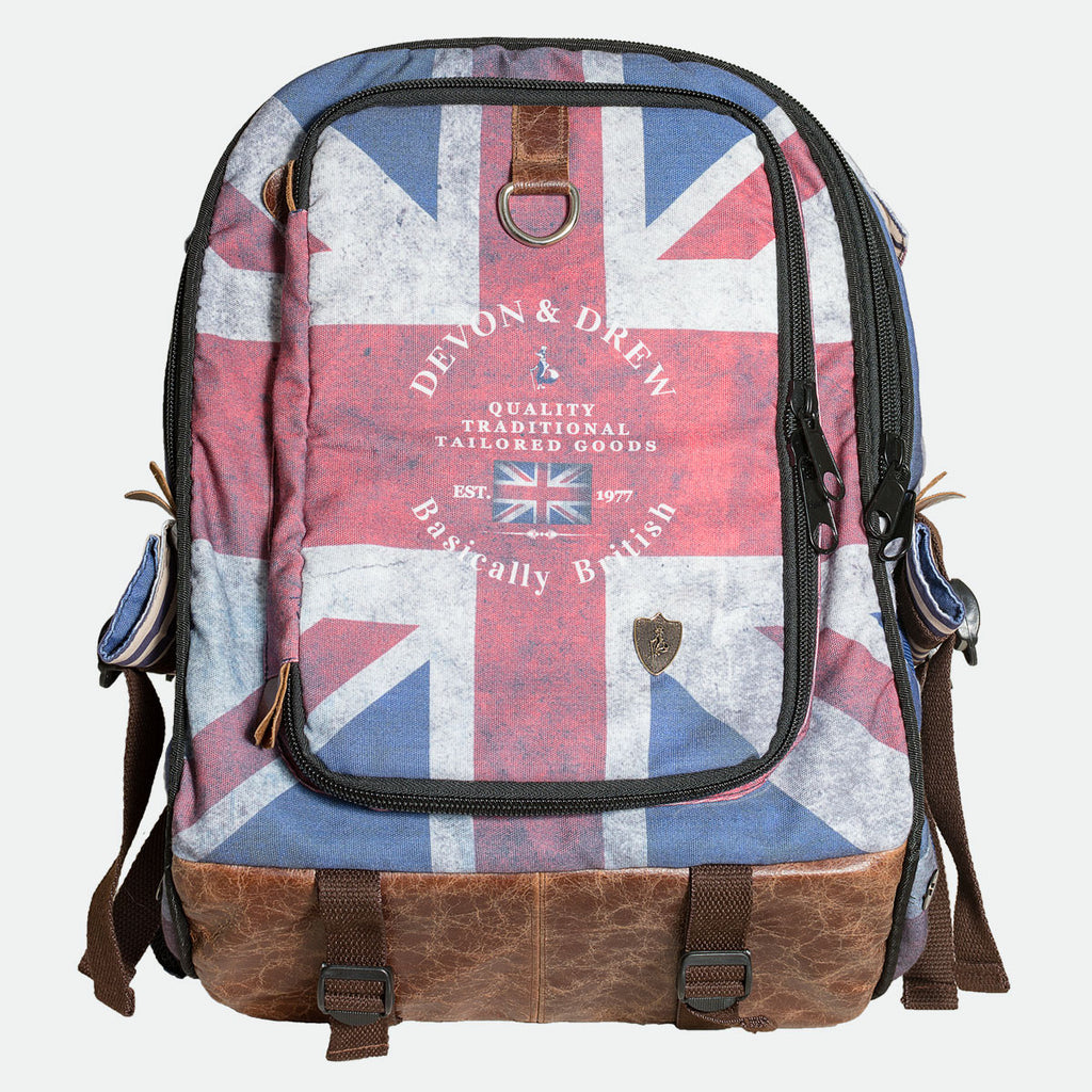Baker Street Union Jack Pet Backpack Carrier