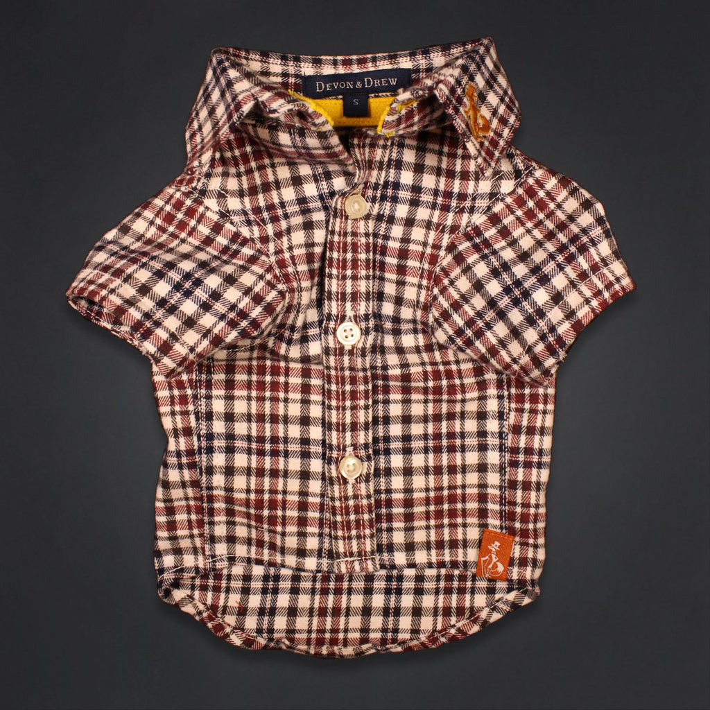 Richmond Classic Rust Dog Shirt