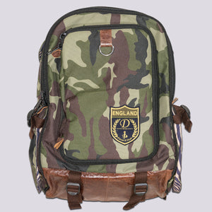 Baker Street Camoflauge Pet Backpack Carrier