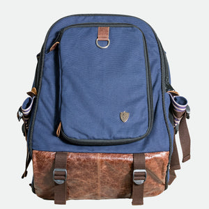 Baker Street Navy Pet Backpack Carrier