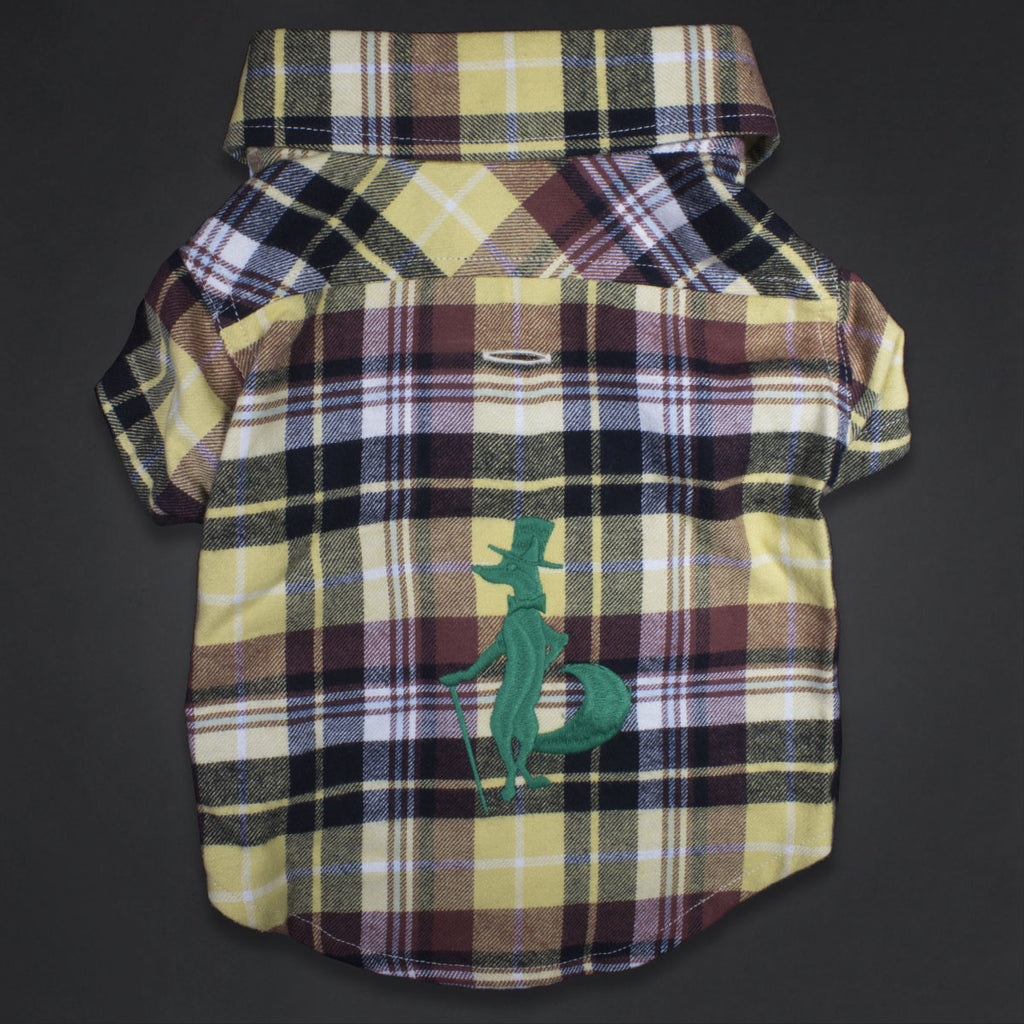 Richmond Big Fox Dog Flannel