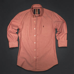 Lancaster Rose Solid Oxford Shirt