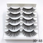 The Beauty Glam - 5 Pairs of Premium Lashes Kit - The Beauty Glam