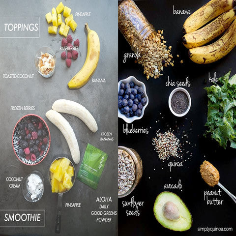 Your weekly smoothies