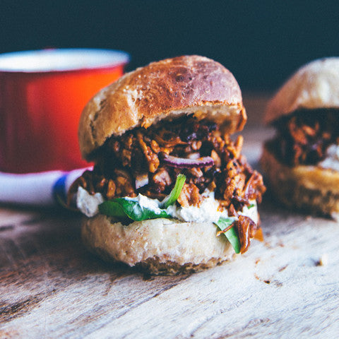 New! Vegan Faux Pulled Pork