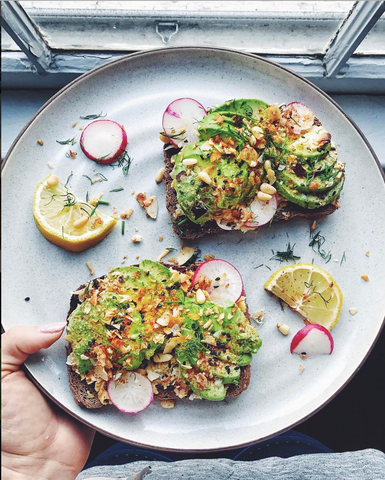 New! Avocado Special toasts