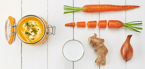 New! Creamy carrot soup