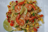 Ginger-Lime Shrimp Quinoa