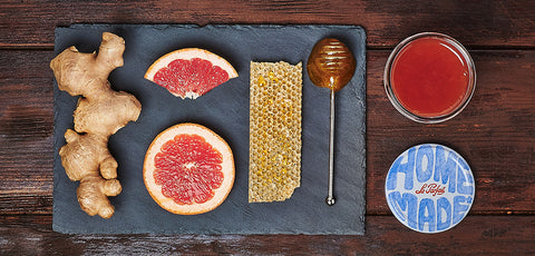 New! Grapefruit Ginger Honey Marmelade