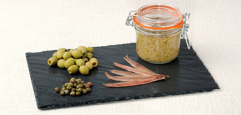 New! Green Olives Tapenade