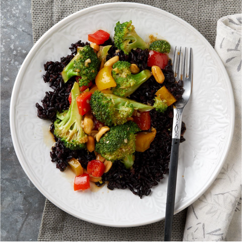 New! Kung Pao Broccoli