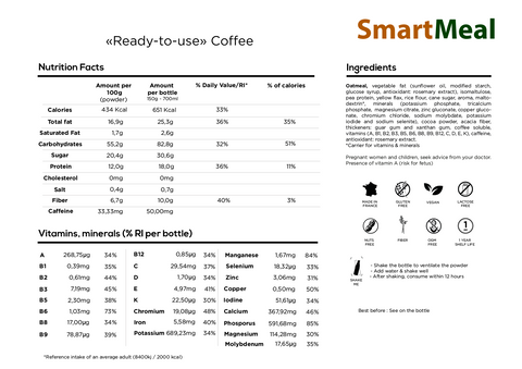 SmartMeal Coffee