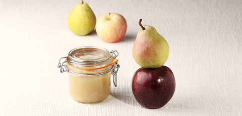 New! Apple Pear Puree