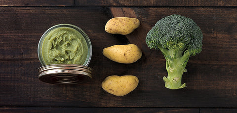 New! Potato Brocoli Puree