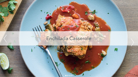 New! Enchilada Casserole