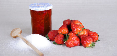 New! Strawberry Ginger Honey Marmelade