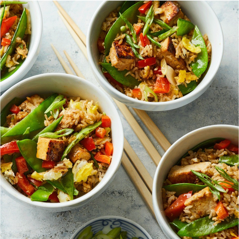 New! Vegetable & Tofu Fried Rice