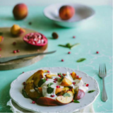 Peach Yogurt Salad