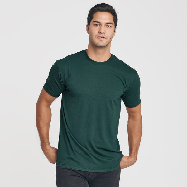 Forest Green Crew Neck T-Shirt