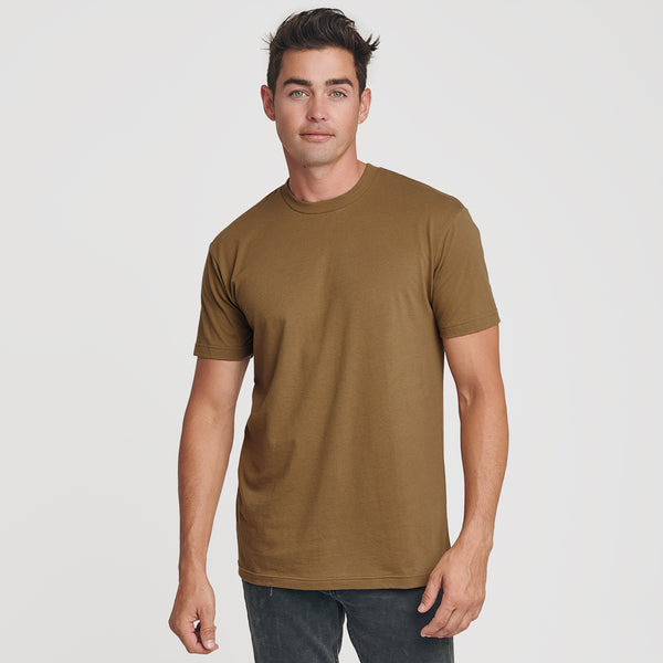 Tan 499 Crew Neck T-Shirt