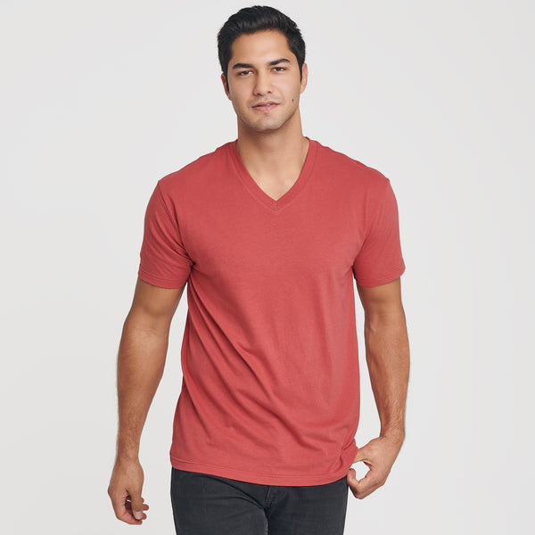 Cranberry V-Neck T-Shirt