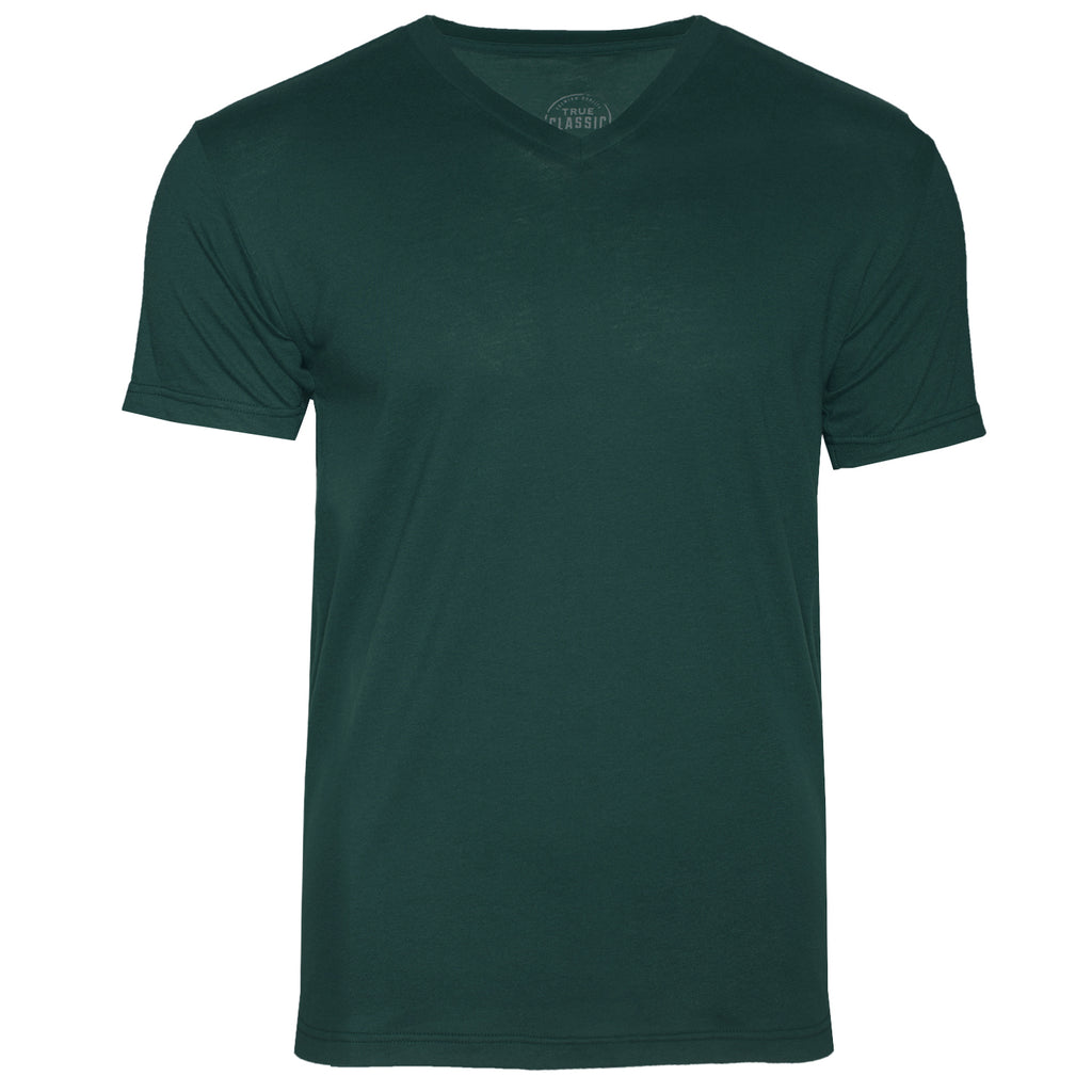Forest Green V-Neck T-Shirt
