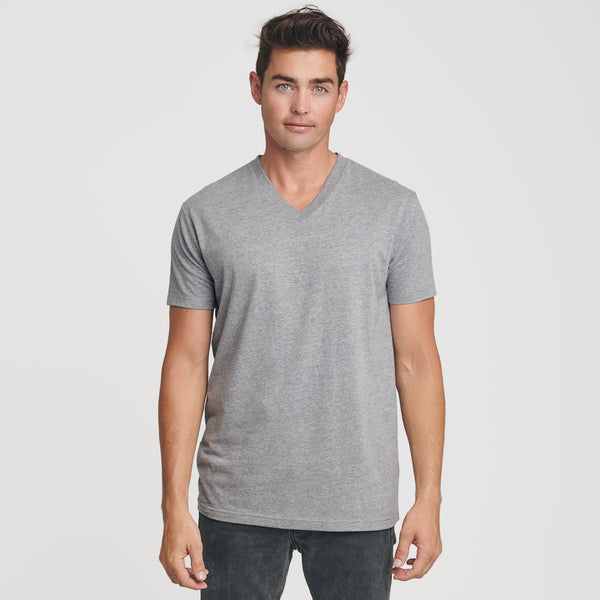 Heather Gray V-Neck T-Shirt