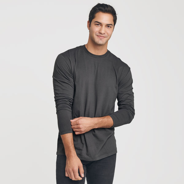 Carbon Crew Neck Long Sleeve