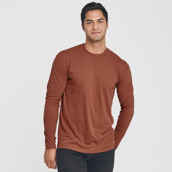 Red Rock Crew Neck Long Sleeve