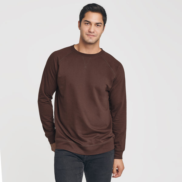 Coffee French Terry Sweatshirt