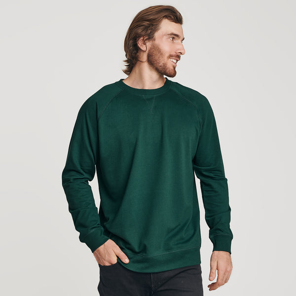 Forest Green French Terry Sweatshirt
