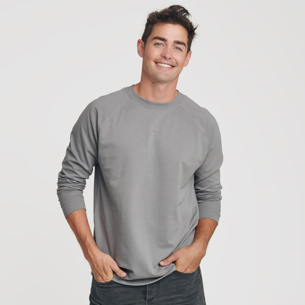 Slate French Terry Sweatshirt
