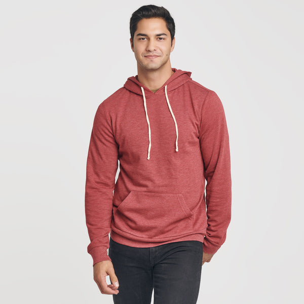 Cardinal Red Fleece Pull Over Hoodie