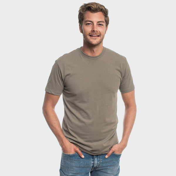 Harbor Gray Crew Neck T-Shirt