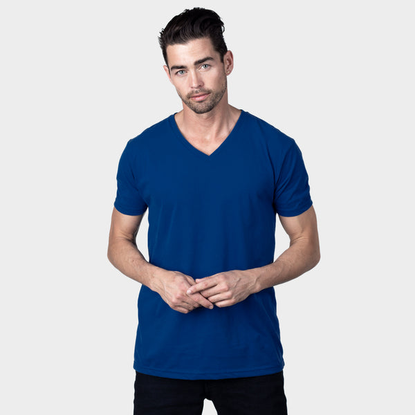 Cobalt V-Neck T-Shirt