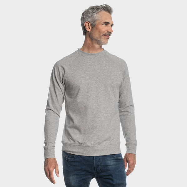 Heather Gray French Terry Sweatshirt