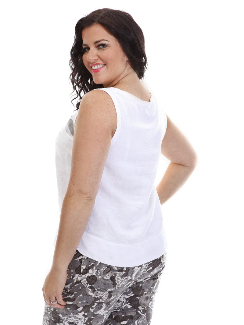 Sleeveless Top - Flow by VIDA VIDA Shopping Online Sale Online Genuine Sale Online EDgcQ8g5d2