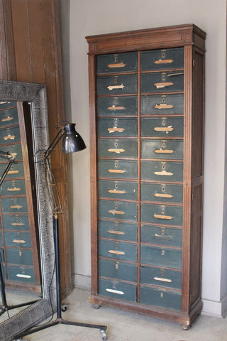Antique French Filing Cabinet