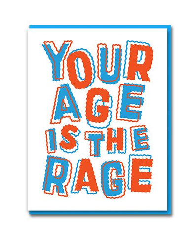 Age Rage Card by Bench Pressed
