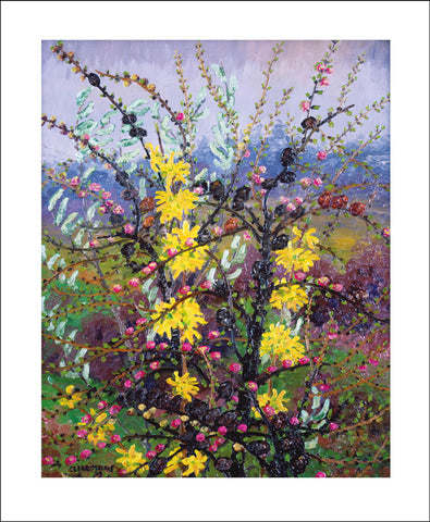 Art Angels Card - Shrubs