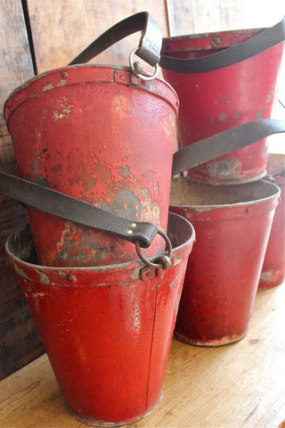ORIGINAL EARLY 1900S FIRE BUCKET