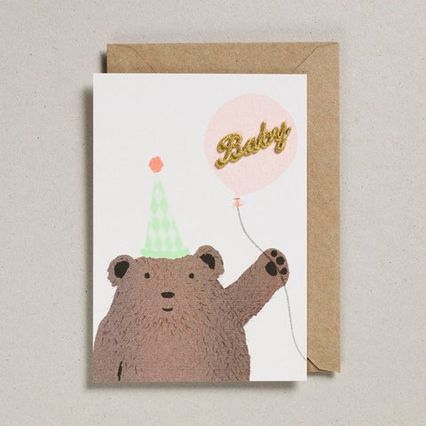 Petra Boase Card Bear & Balloon