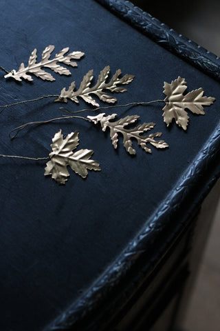 Brass Leaf Decoration